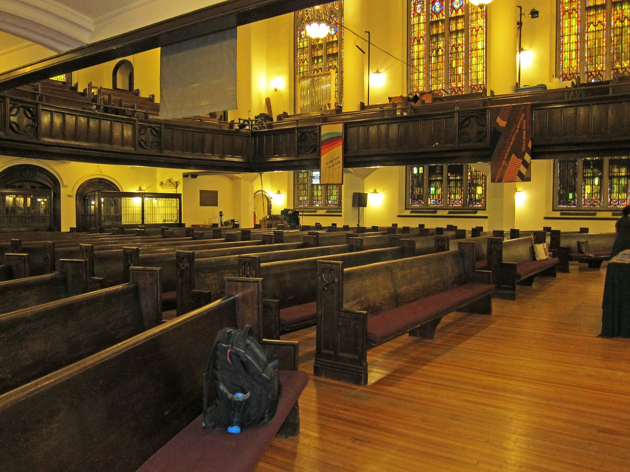 Broadway Presbyterian Church_2013-10-04_4328_Sanctuary seating seen from far stage left