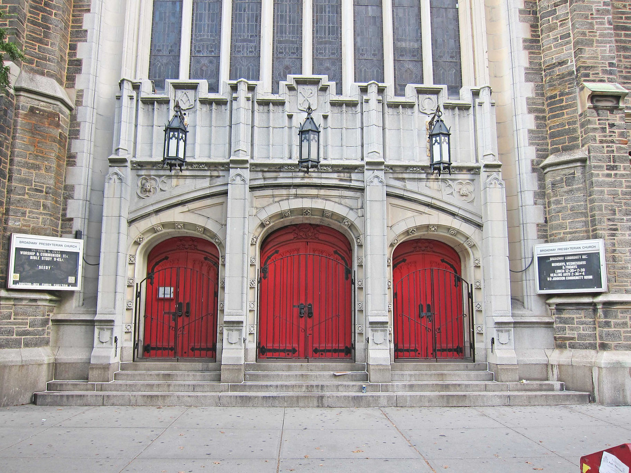 Broadway Presbyterian Church_2013-10-04_4326_3 Broadway doors to sanctuary