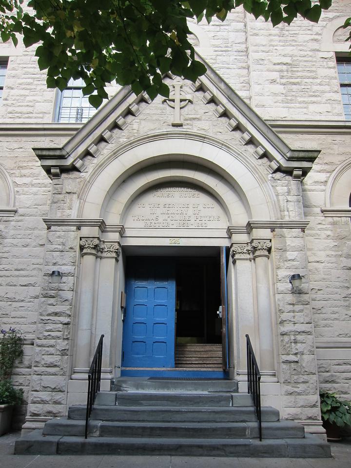 St Michael's Church_2013-11-26_4497_Amsterdam entrance